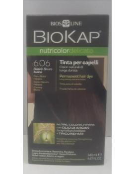 BioKap Nutricolor Delicato Tinta 6.06 Biondo Scuro Avana