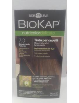 BioKap Nutricolor Delicato Tinta 7.0 Biondo Medio Naturale