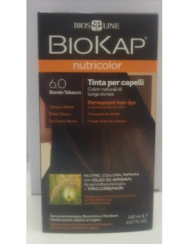 BioKap Nutricolor Tinta 6.0 Biondo Tabacco