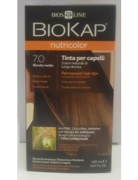 BioKap Nutricolor Tinta 7.0 Biondo Medio