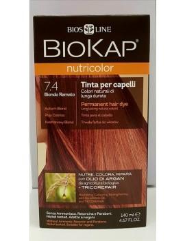 BioKap Nutricolor Tinta 7.4 Biondo Ramato