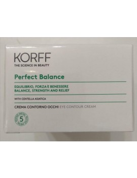 korff Perfect Balance Crema Contorno Occhi 15 ml.