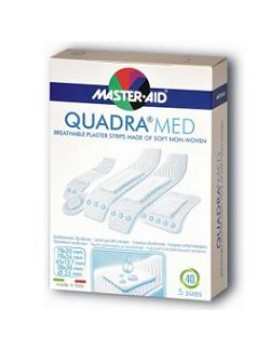 Master-Aid Quadra Assortito 20 Pezzi