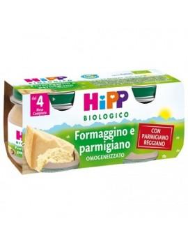 Hipp Formaggino e Parmigiano 2x80g