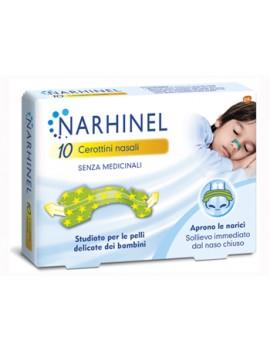 Narhinel Cerotti Nasali Bambini 10 Cerottini